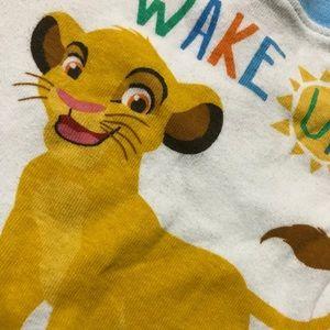 Disney Baby Boy ( 12m ) Lion King Pajama Shirt